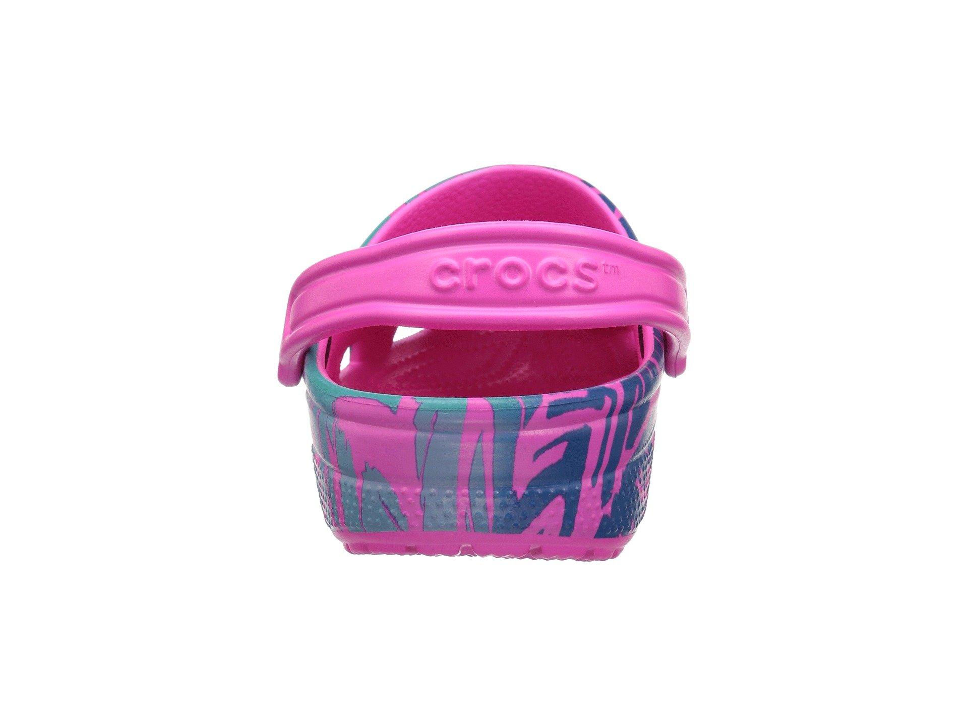 Clog Turquoise Classic Graphic neon Pink Ii Crocs xIgaw0x