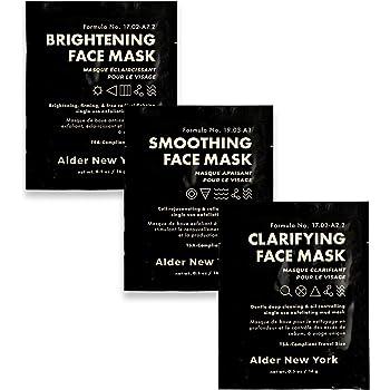 Exfoliating Mud Face Mask Trio- 3 TSA-Compliant Single Use Masks