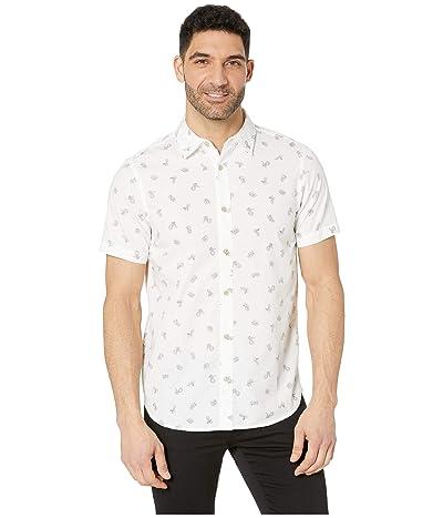 The North Face Short Sleeve Baytrail Shirt (TNF White Snakes on a Plain Print) Men