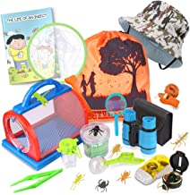 Outdoor Explorer Kit & Bug Catcher Kit with Binoculars, Flashlight, Compass,..