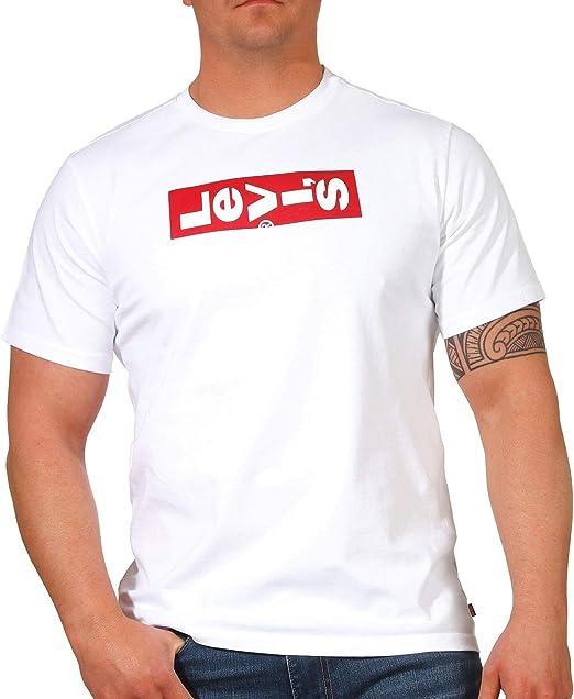 Camiseta Levis Oversized BW Negro para Hombre