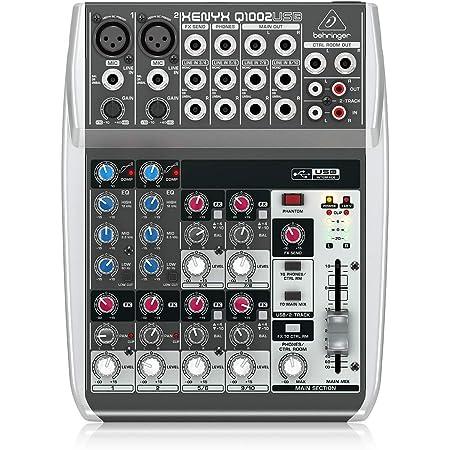Behringer Q1002USB Table de mixage compacte 10 canaux