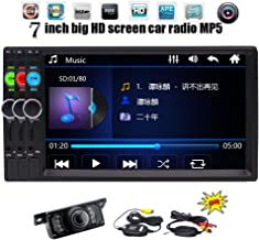 Wireless Backup Camera Included EinCar Universal 7'' inches Double Din in Dash HD Car Radio MP5 Bluetooth Handsfree Automotive Car Stereo Head Unit MP3 MP4 Music Video Player with Remote Control