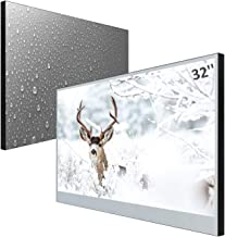 Best Elecsung 32inch Smart Mirror TV for Bathroom IP66 Waterproof Android System with Integrated HDTV(ATSC) Tuner and Built-in Wi-Fi Review