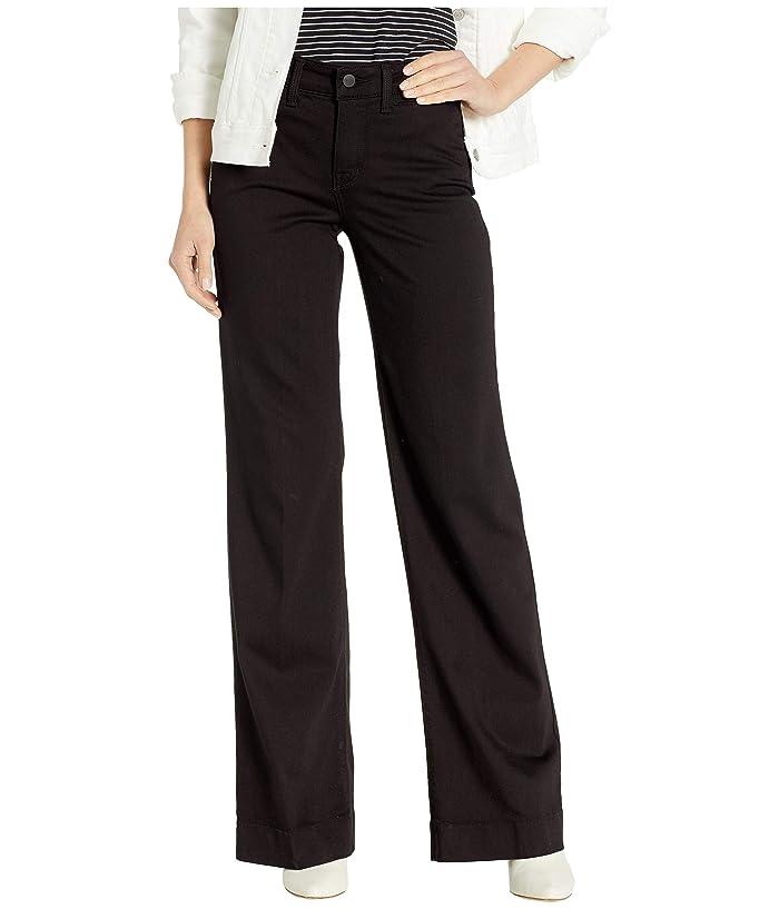 NYDJ Teresa Trousers in Black (Black) Women's Jeans