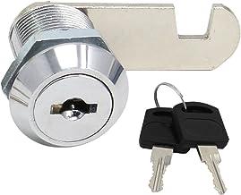 HSEAMALL Beveiliging postbusslot roestvrij staal kast kast kast nosslot met dezelfde sleutel 20 mm (20 mm lade lock)