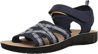 LifeStride Women's Juno Sandal, NAVY, 8.5 M US