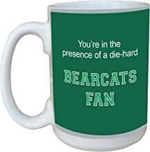 Tree-Free Greetings lm44641 Bearcats College Basketball Ceramic Mug with Full-Sized Handle, 15-Ounce