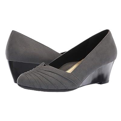 Soft Style Gerdie (Dark Grey Faux Suede) Women