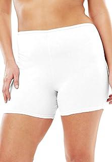 Comfort Choice Women's Plus Size 3-Pack Cotton Boxer