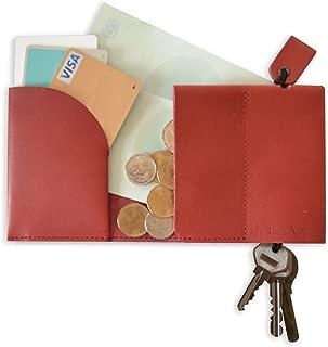 FulltoKeydell フルトキーデル-鍵を収納する財布 (レッド)
