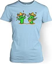 Musical Cacti Womens T-shirt