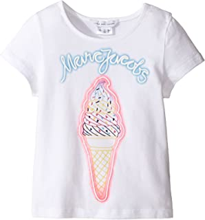 [マークジェイコブス] Little Marc Jacobs レディース Fancy Short Sleeve Tee Shirt (Toddler) トップス [並行輸入品]