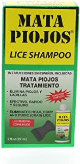 Mata Piojo Shampoo Lice Treatment 2 oz - Shampoo para Piojos (Pack of 1)