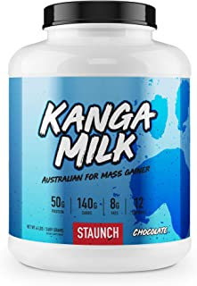 Staunch Kanga Milk (Milk Chocolate) 6LBS - Mass Gainer