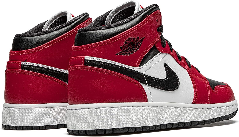 Jordan 1 Mid Chicago Black Toe Big Kids