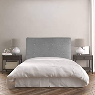 Dreaming Kamahaus Cabecero Chloe | Tapizado Tejido Nido | 160 x 120 cm | para Camas de 150 cm |Color Nido 2/Gris | Antimanchas