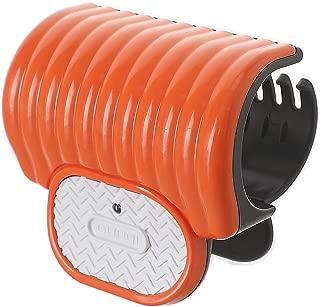 iBang Portable Instant Heat Hot Roller Clip temp 80℃ 176℉ - Natural Wave Hair Bang Curler for Travel Work at voltage,ampere 5V,2A, not 5V,1A (Coral Orange)
