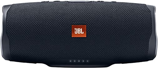 JBL Charge 4 Portable Waterproof Wireless Bluetooth Speaker - Black (Renewed)