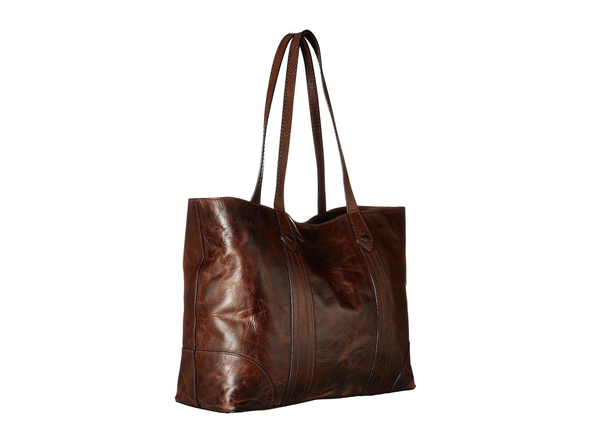Antique Up Frye Brown Melissa Dark Pull Shopper Ivxz8qwR