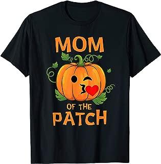 Pumpkin Mom of the Patch T-Shirt Family Halloween Tee