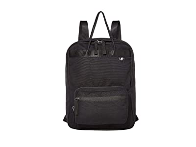 Nike Tanjun Premium Backpack (Black/Black/White) Backpack Bags