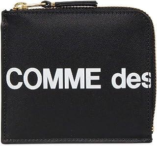 COMME des GARCONS (コムデギャルソン) コンパクト財布 HUGE LOGO SA3100HL ブラック [並行輸入品]