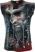 Spiral Mens - Viking Wrap - Allover Sleeveless T-Shirt Black