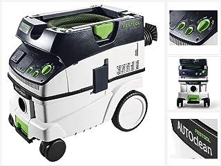 Festool CTL 26 E AC CLEANTEC-Aspirador 574945, Negro y Verde
