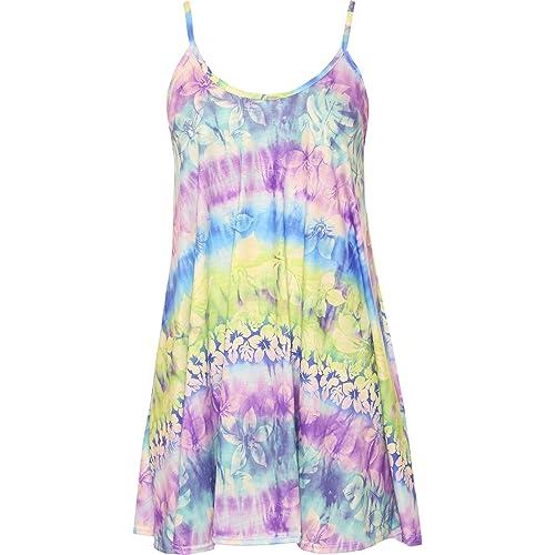 70b880677b3d Tie Dye Dress  Amazon.co.uk