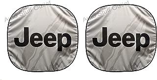 New Jeep Windshield Auto Spring Sun Shade 28.5