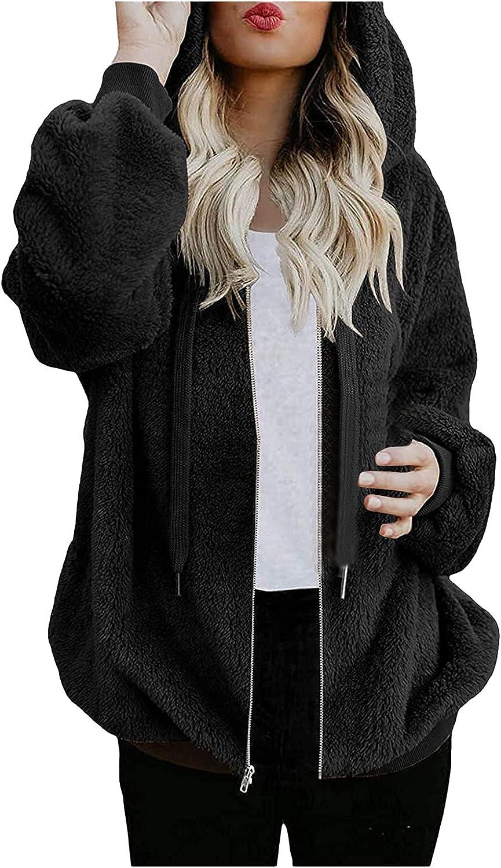 Super Ranking TOP4 sale period limited Fall Hoodies Sweatshirts for Women Long Zip Up Blous Sleeve Coat