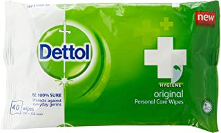 Dettol Anti-Bacterial Wet Wipes 40s