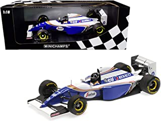 Williams Renault FW16 #0 Damon Hill 2nd Place Formula One Brazilian Grand Prix (1994) Limited Edition to 204 Pieces Worldw...