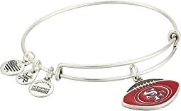 Color Infusion San Francisco 49ers Football II Bangle