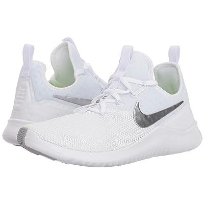 Nike Free TR 8 (White/Metallic Silver) Women