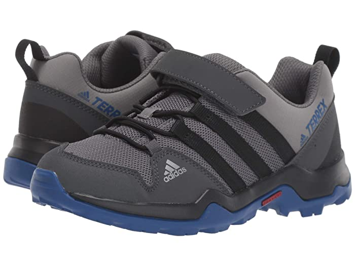 adidas Outdoor Kids  Terrex AX2R CF K (Little Kid/Big Kid) (Grey Four/Black/Collegiate Royal) Boys Shoes