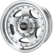 American Racing AR23 Machined Wheel with Clear Coat (15x7