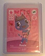 Nintendo Animal Crossing amiibo Festival Card Rosie