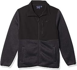Boys 100% Poly Knit Jacket