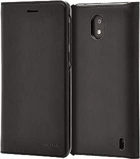 Nokia 2V and Nokia 2.1 Flip Cover - Black