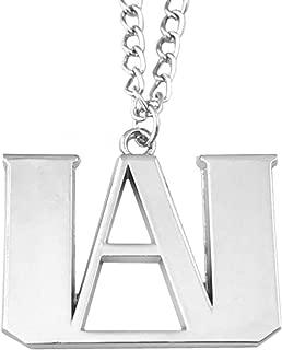 My Hero Academia Pendant Necklace Anime Manga TV Comics Movies Cartoon Superhero Logo Theme Premium Quality Detailed Cosplay Jewelry Gift Series