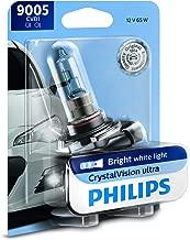Philips 9005CVB1 1 CrystalVision Ultra Upgrade Bright White Headlight Bulb