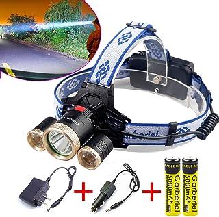 Tactical Zoomable LED Headlamp Flashlight Linternas Rechargeable Headlight Faros