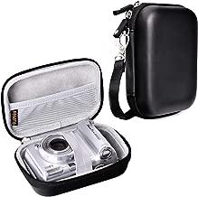 Waterproof Snug fit Camera Case Bag Compatible for Canon PowerShot SX720 SX730 ELPH190 SX620 G9X Mark II,Panasonic ZS50 TS30R,Sony DSCW830 W810 HX80 WX220 HX90,HP Sprocket Portable Photo Printer Bag