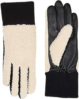 Faux Sherpa Tech Gloves