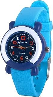 Wolfteeth Kids Watch Analog Quartz with Plastic Watchband 3120
