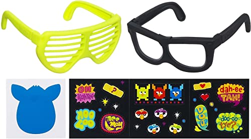 para proporcionarle una compra en línea agradable Furby Frames - Gafas Rockers Negras Negras Negras y Amarillas  preferente