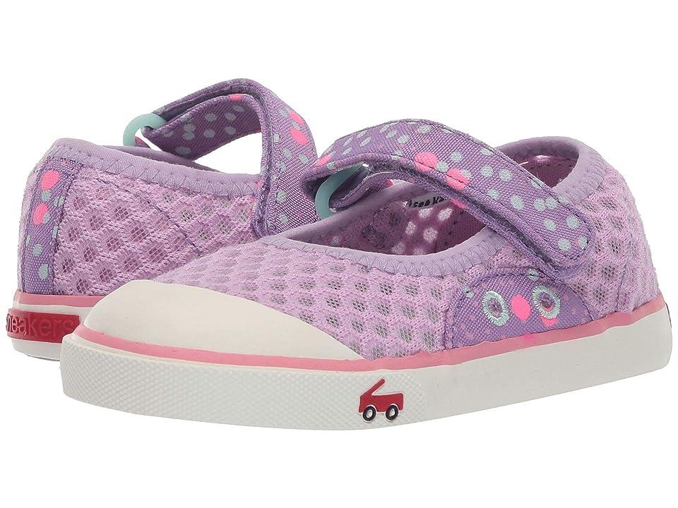 See Kai Run Kids Saylor Mary Jane (Toddler/Little Kid) (Purple) Girl