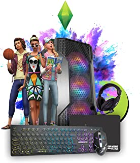 Pc Gamer Intel Core i5, 16gb Ram, Gt 740 2Gb, Ssd 240gb, Fonte 500w - GANHE DE BRINDE: Kit Teclado, Mouse, Mousepad e Head...